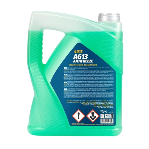 MANNOL Hightec Antifreeze AG13 -40°C, Grün, 5 Liter