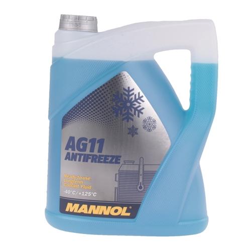 Mannol Antifreeze AG11 (- 40°C) Blau, 5L