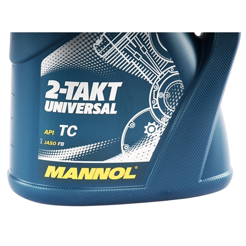 MANNOL 2-Takt Universal Motorradöl API TC 4 Liter
