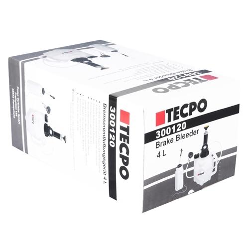 TECPO Bremsenentlüftungsgerät Bremsflüssigkeit 4L+ 1L
