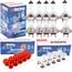 TECPO Autolampen Set H7, Blinkerbirnen, Bremslicht, 30-teilig