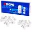 TECPO Glassockel 12V 5W - W5W, 50-teilig
