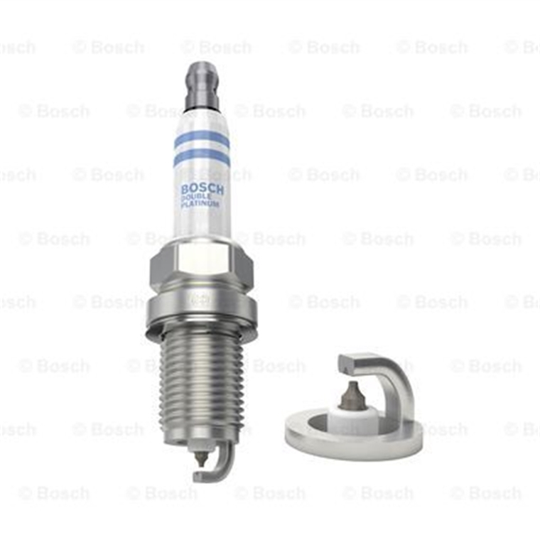 8x Bosch Bougie d/'allumage set double platine fr5kpp332s 0242245576 VW AUDI SEAT SKODA