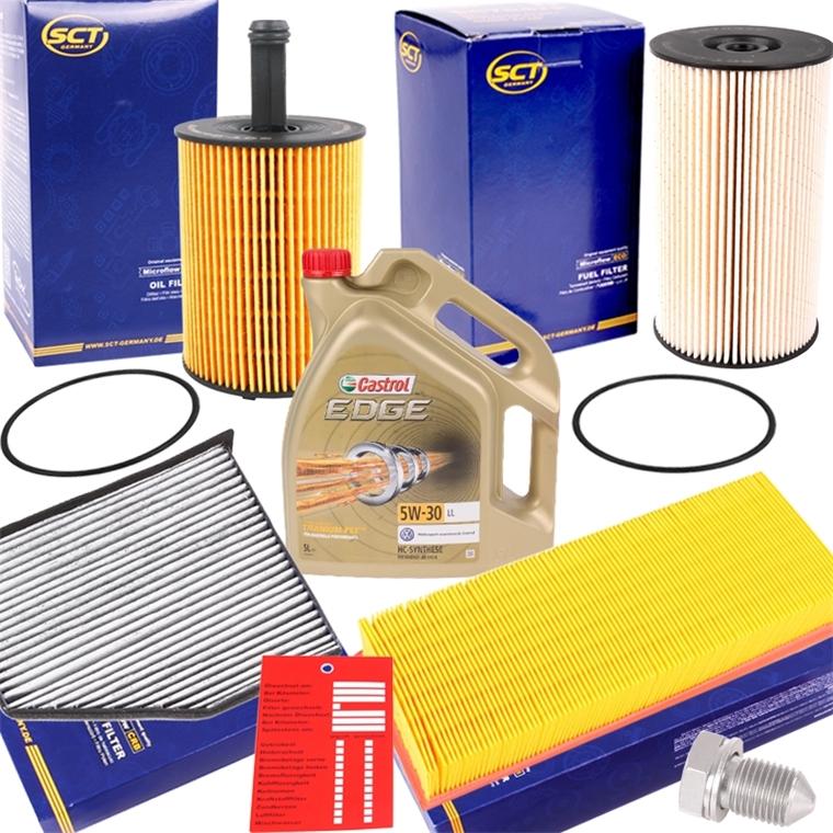 Innenraumfilter+Ölfilter Inspektionsset OPEL Set S