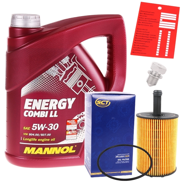mannol 5w 30 energy combi ll 5 liter lfilter autoteile. Black Bedroom Furniture Sets. Home Design Ideas