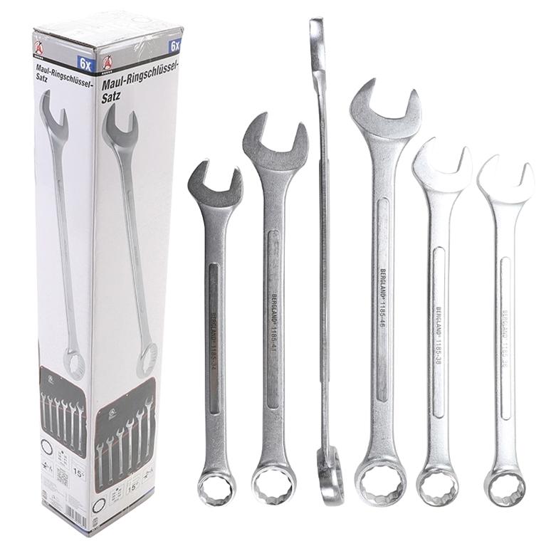 Ring Maulschlüssel XXL lang SW 50 mm Maul Ringschlüssel Gabelschlüssel Werkzeug