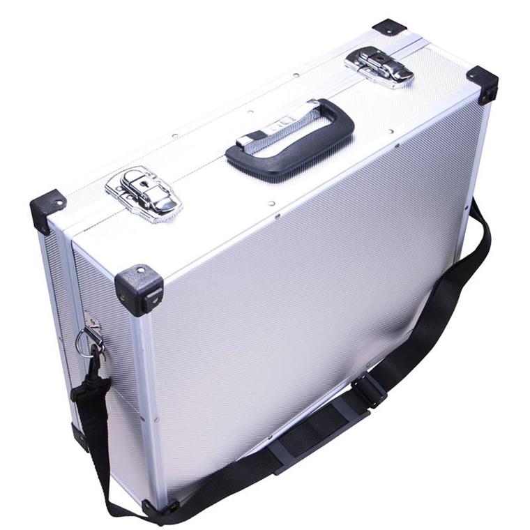 aluminium koffer leerkoffer alu werkzeug box alukoffer. Black Bedroom Furniture Sets. Home Design Ideas