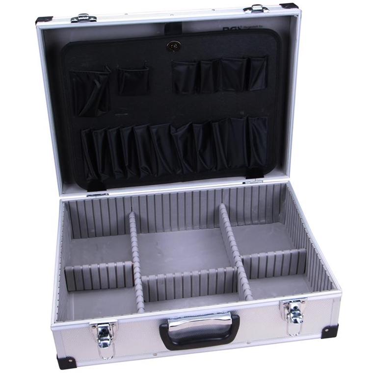 aluminium koffer leerkoffer alu werkzeug box alukoffer elektriker koffer leer 4026947033044 ebay. Black Bedroom Furniture Sets. Home Design Ideas