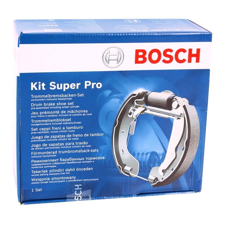 Bosch 0204114546 kit Super pro bremsbackensatz con radbremszylinder premontado