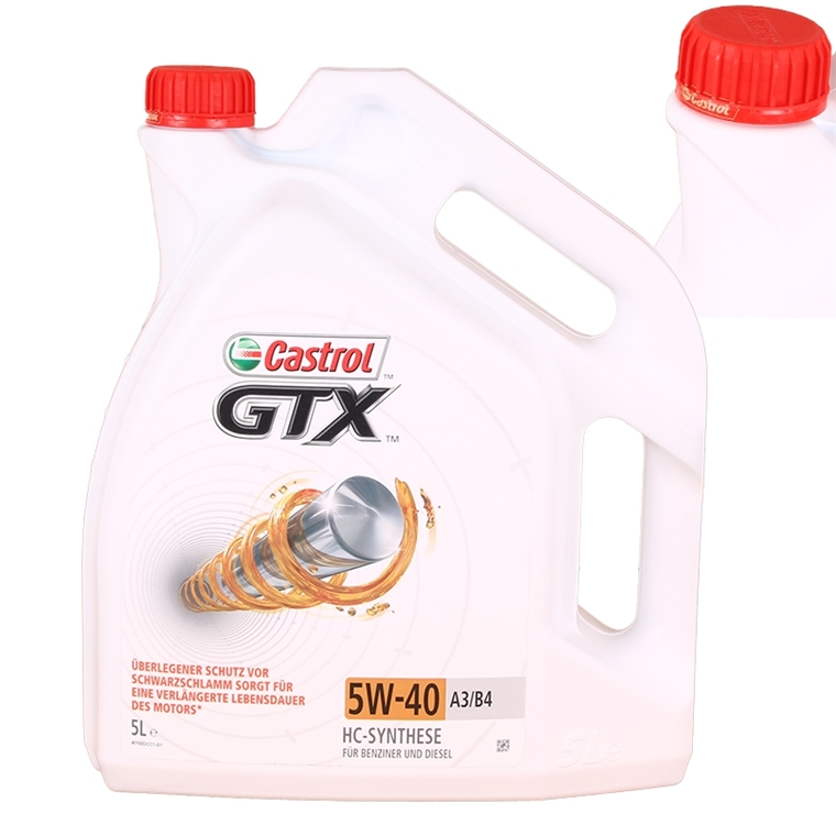 castrol gtx 5w 40 5 liter autoteile. Black Bedroom Furniture Sets. Home Design Ideas