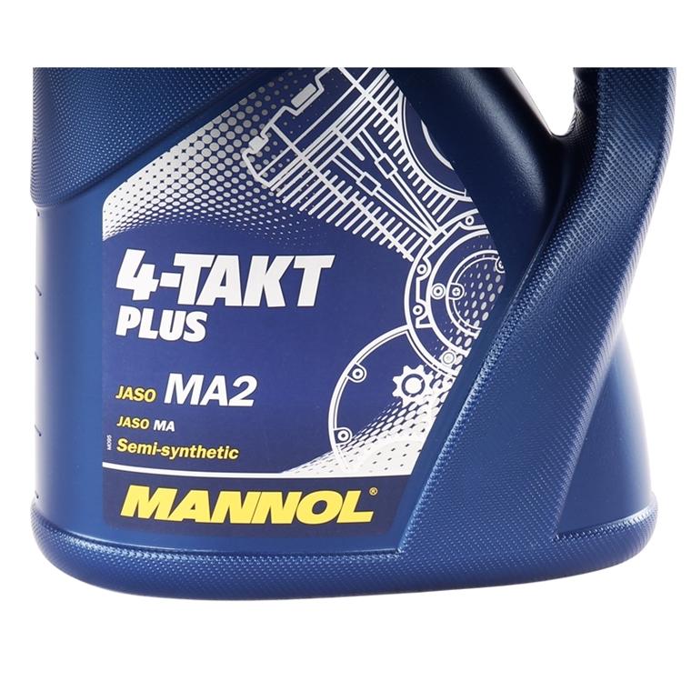 mannol 10w 40 4 liter motor l 4 takt plus jaso ma2. Black Bedroom Furniture Sets. Home Design Ideas