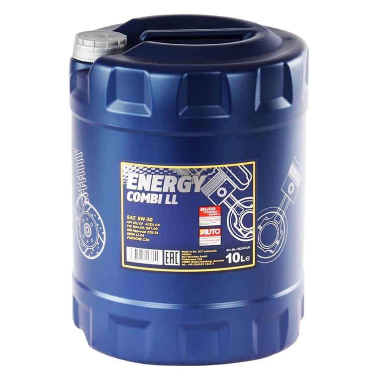 mannol energy combi ll 5w 30 api sn cf 10 liter autoteile. Black Bedroom Furniture Sets. Home Design Ideas