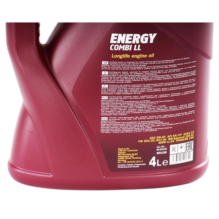 mannol energy combi ll 5w 30 api sn cf 4 liter autoteile. Black Bedroom Furniture Sets. Home Design Ideas
