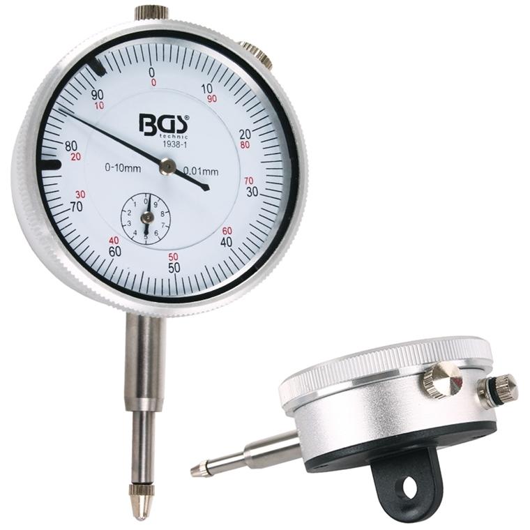 0,01 mm Genauigkeit BGS 1938-1 Messuhr analog