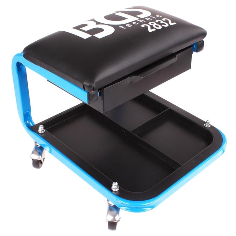 werkstatt rollsitz mit schublade f r werkzeug set werkstattsitz stuhl hocker ebay. Black Bedroom Furniture Sets. Home Design Ideas