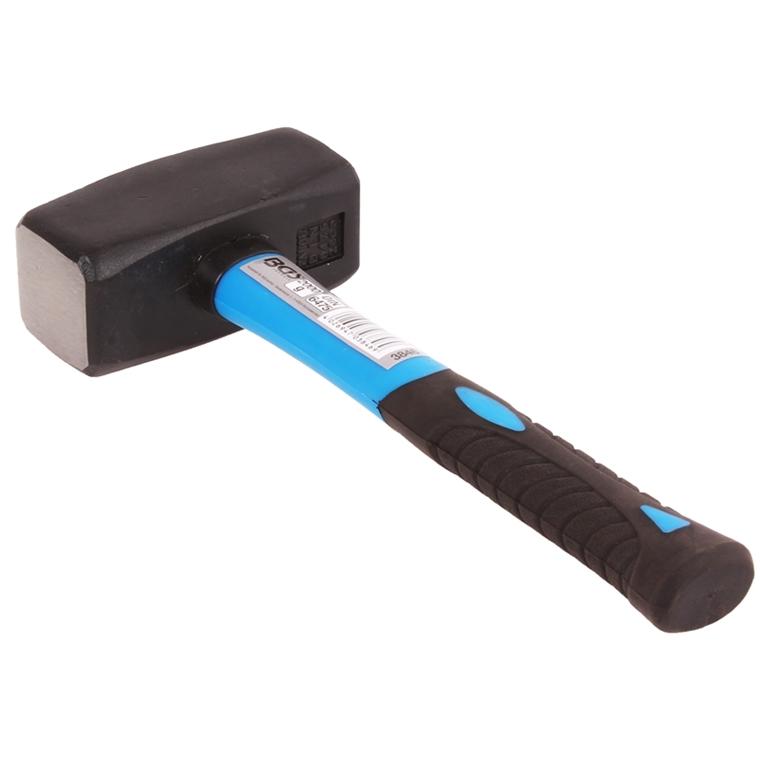 f ustel mit fiberglasstiel werkzeug 2000 g hammer handf ustel f ustel 2 kg bgs autoteile. Black Bedroom Furniture Sets. Home Design Ideas