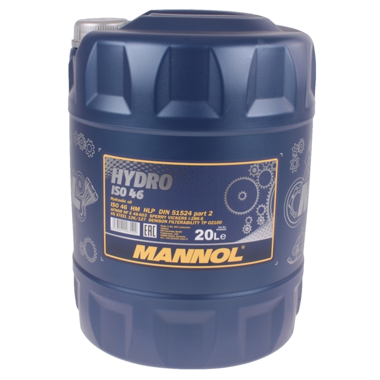 mannol hydro iso hlp 46 hydraulik l 20 liter autoteile. Black Bedroom Furniture Sets. Home Design Ideas