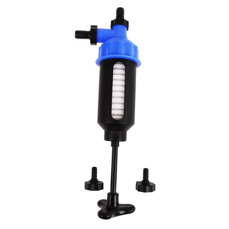 Kraftstoff-Transfer Pumpe Siphon-Pumpe /Ölabsaugschlauch 180 cm Pumpe automatische Siphonpumpe Universal