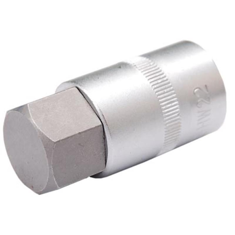 """Bit-Einsatz 1//2/"""" Antrieb Innenvierkant 12,5 mm - Innensechskant 6 mm"""
